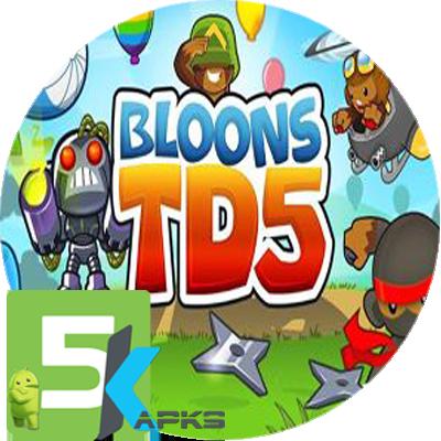 Bloons TD 5 Apk v3.6.1 Free Download + MOD+Obb Unlimited [Paid] 5kapks