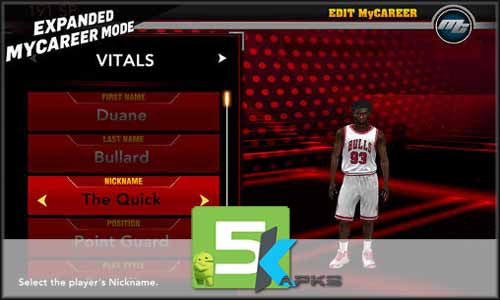 NBA 2K15 mod latest version download free apk 5kapksNBA 2K15 mod latest version download free apk 5kapks