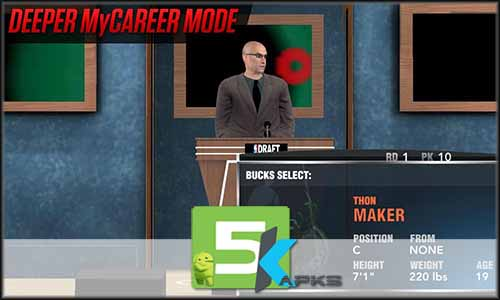 NBA 2K17 v0.0.27 Apk + Obb Data [Full version] Free Download