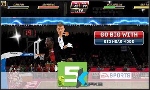 NBA JAM mod latest version download free apk 5kapks