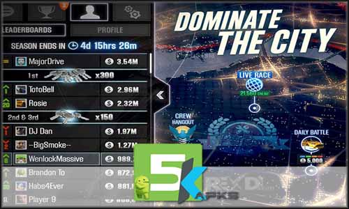 CSR Racing mod latest version download free apk 5kapks