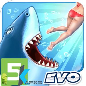 Hungry Shark Evolution apk free download 5kapks