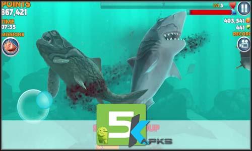 Hungry Shark Evolution full offline complete download free 5kapks