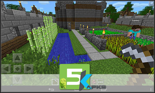 Minecraft Pocket Edition v1.0.4 Apk+Mod [Immortality/Updated] Android Free 5kapks