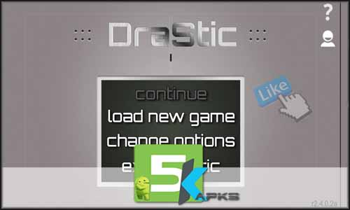 drastic ds emulator mod latest version download free apk 5kapks