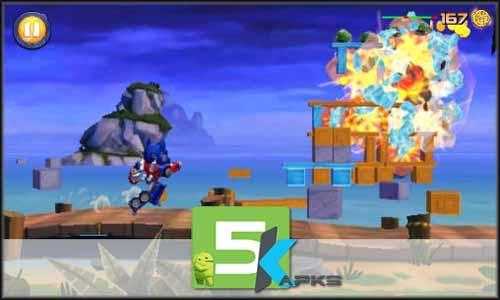 Angry Birds Transformers mod latest version download free apk 5kapks