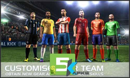 Final kick Online football v5.7 Apk +MOD+Obb Data [Full Version]Android full download 5kapks