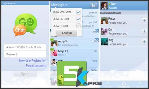 GO SMS Pro full offline complete download free 5kapks