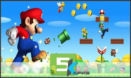 Super Mario Run free apk full download 5kapks