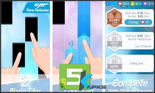 Piano Tiles 2 v3.0.0.449 Apk +MOD [Unlimited Life] For Android download free apk 5kapks