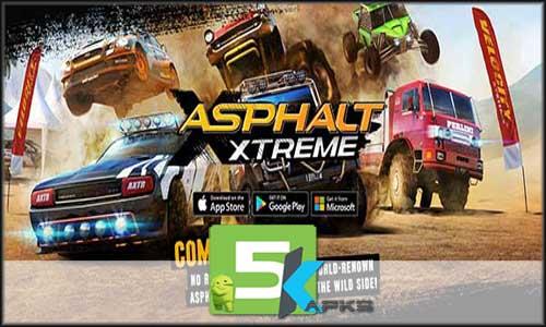 Asphalt Xtreme v1.4.2b Apk+MOD Unlocked+Data[!Updated] Android mod latest version download free apk 5kapks