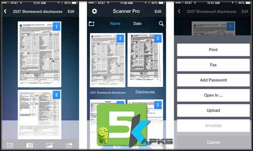 Camera To PDF Scanner Pro v2.0.4 Apk [!Full Version] Free full offline complete download free 5kapks