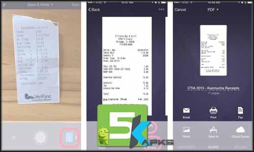 Camera To PDF Scanner Pro mod latest version download free apk 5kapks