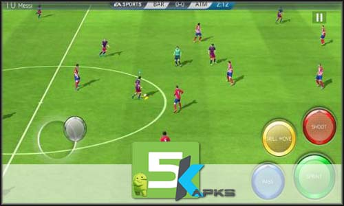 FIFA 16 Soccer mod latest version download free apk 5kapks