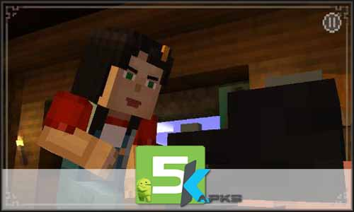 Minecraft Story mode free apk full download 5kapks
