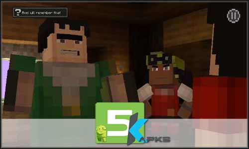 Minecraft Story mode mod latest version download free apk 5kapks