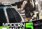 Modern Combat 5 Blackout apk free download 5kapks