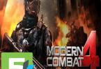 Modern combat 4 Zero Hour apk free download 5kapks