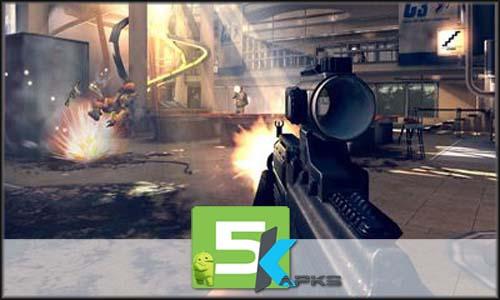 Modern combat 4 Zero Hour free apk full download 5kapks