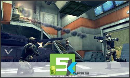 Modern combat 4 Zero Hour mod latest version download free apk 5kapks