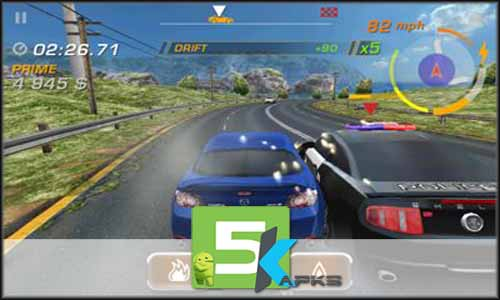Need for Speed Hot Pursuit free apk full download 5kapks