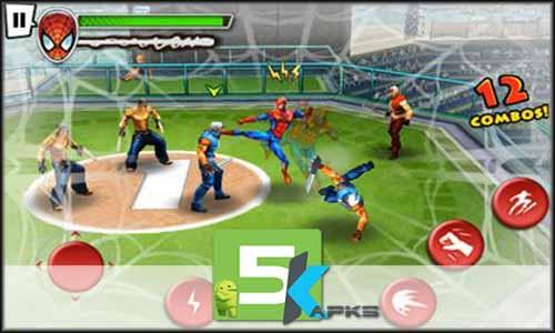 SpiderMan Total Mayhem HD v1 01 Apk+Obb Data [!Full Version