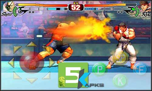 street fighter android apk + data download