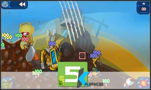 Worms 2 Armageddon mod latest version download free apk 5kapks