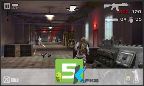 Battlefield Bad Company 2 v1.2.8 Apk+Obb Data[!Updated] For Android full download 5kapks