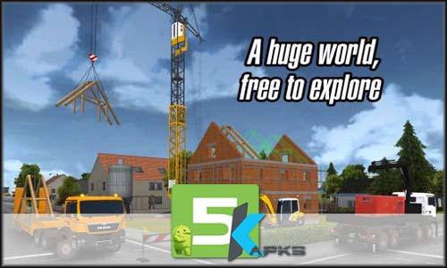 Construction Simulator 2014 free apk full download 5kapks