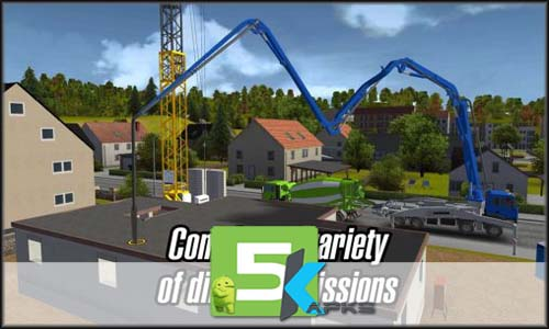 ... Construction Simulator 2014 V1.12 Apk+Obb Data [!Updated] Free Mod