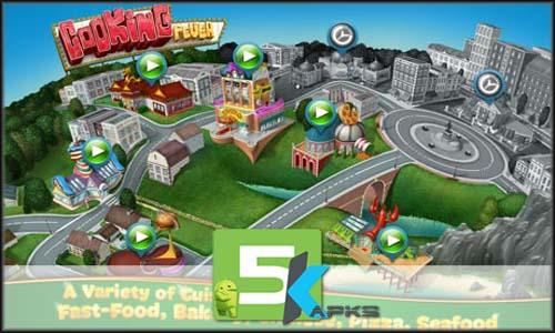 Cooking Fever mod latest version download free apk 5kapks
