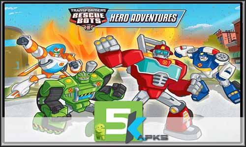 Transformers Rescue Bots free apk full download 5kapks