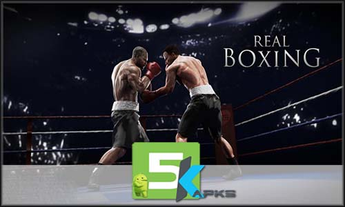 Real Boxing v2.4.0 Apk+MOD[! Unlimited Money]+Obb Data For Android full download 5kapks