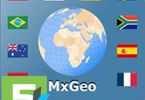 World atlas & map MxGeo Pro apk free download 5kapks