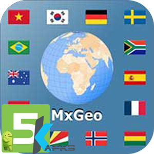 World atlas map MxGeo Pro apk free download 5kapks
