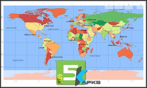 World atlas map mxgeo pro v462 apk updated for android 5kapks screen shorts of world atlas map mxgeo pro android app v462 gumiabroncs Images