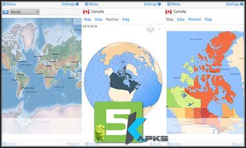 World atlas & map MxGeo Pro mod latest version download free apk 5kapks