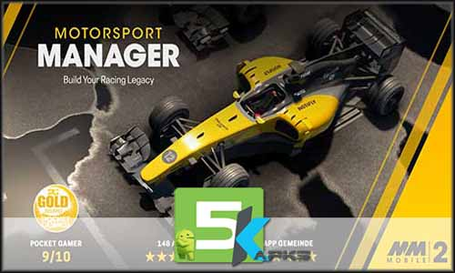 Motorsport Manager Mobile 2 free apk full download 5kapks