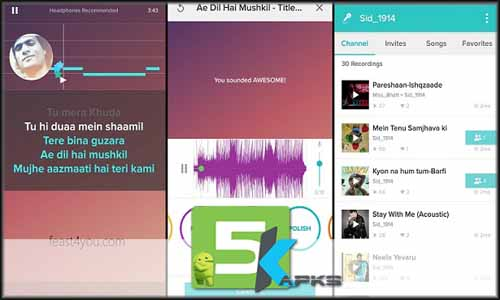 Sing! Karaoke by Smule v4 5 5 Apk MOD[!Unlocked] For Android