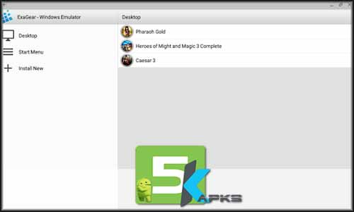 ExaGear Windows Emulator free apk full download 5kapks - ExaGear – Windows Emulator v1.0.4 Apk[!Updated Version]