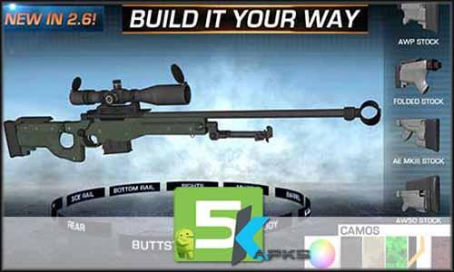 Gun Builder ELITE free apk full download 5kapks