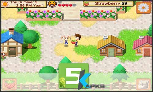 HARVEST MOON Seeds Of Memories free apk full download 5kapks