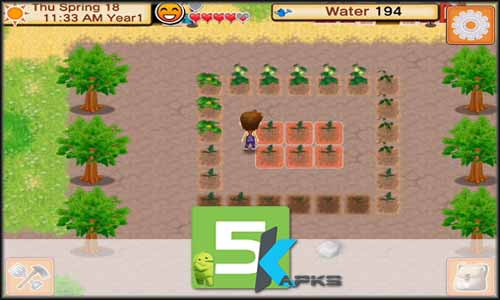 HARVEST MOON Seeds Of Memories mod latest version download free apk 5kapks