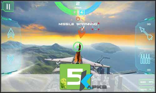 Modern Air Combat Team Match mod latest version download free apk 5kapks