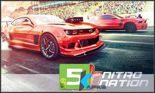Nitro Nation Drag Racing free apk full download 5kapks