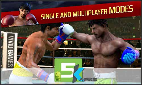Real Boxing Manny Pacquiao free apk full download 5kapks