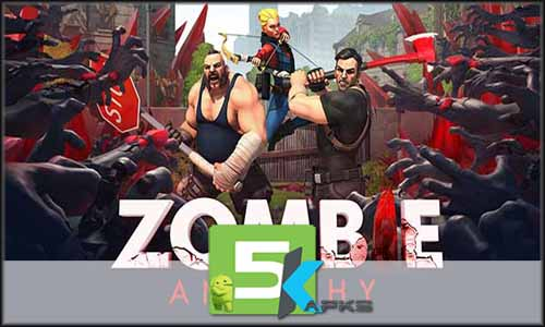 Zombie Anarchy free apk full download 5kapks