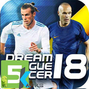 Dream League Soccer 2018 v5.00 Apk+Data free download 5kapks