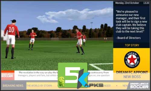 Dream League Soccer 2018 free apk full download 5kapks
